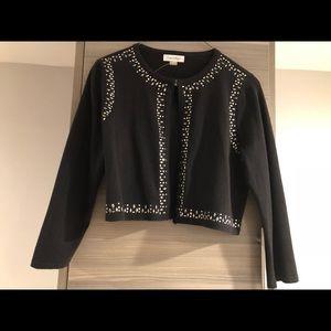 Calvin Klein jeweled sweater